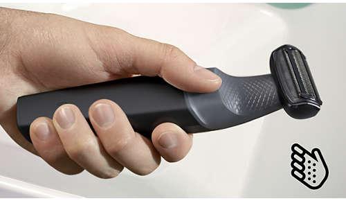 Empuñadura ergonómica para un máximo control
