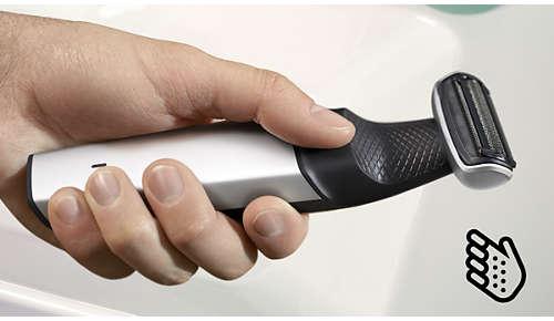 Ergonomischer Griff für eine optimale Handhabung
