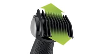 Includes 3 combs for a natural trim (3,5,7 mm)