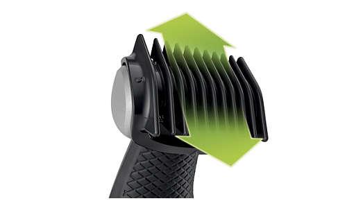 Comprend 3sabots pour une coupe naturelle (3, 5, 7mm)