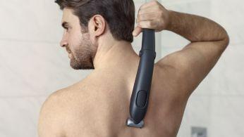 Удължената дръжка улеснява достъпа до гърба