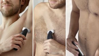 Confidently shave or trim all body zones