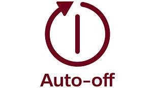 Automatische Abschaltung nach 2 Stunden für mehr Sicherheit und geringeren Energieverbrauch