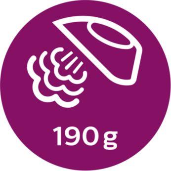 Паровой удар до 190г для разглаживания жестких складок