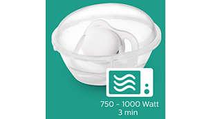 Pasos sencillos para realizar una esterilización confiable en tres minutos