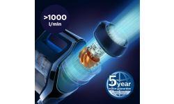 Цифровой двигатель PowerBlade с высокой мощностью всасывания