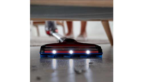 Flexibel 360 graden mondstuk met LED-verlichting