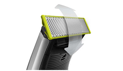 Create precise edges and sharp lines with the dual-sided blade