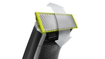Zastr., vytváranie línií a holenie fúzov každej dĺžky, OneBlade