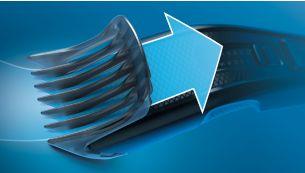 Технология Trim-n-Flow для продолжительной стрижки