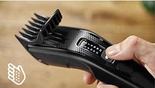 Ergonomisk håndtak for større komfort og kontroll