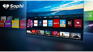 SAPHI. The smart way to enjoy your TV.