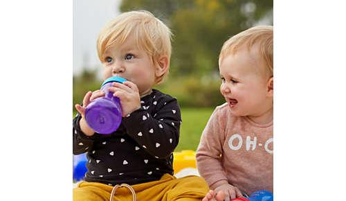 Hrnečky Philips Avent odráží vývoj vašeho dítěte