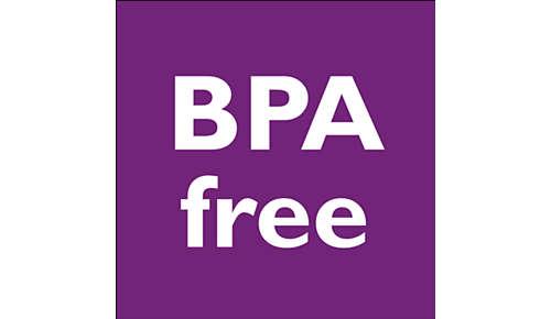 BPA free/0% BPA