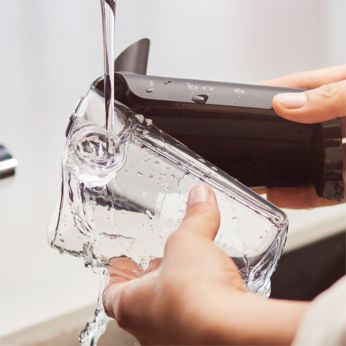 System LatteGo jest wyjątkowo łatwy w czyszczeniu: 2 części, żadnych rurek