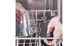 Обе части LatteGo можно мыть в посудомоечной машине