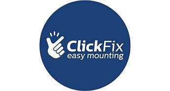 ClickFix vieglā uzstādīšana