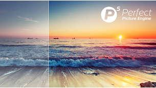 Processore Philips P5. Immagini perfette da qualsiasi sorgente.