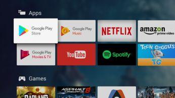 Google Play Store og Philips App Gallery. Noget for enhver smag.