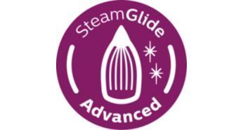 SteamGlide Advanced soleplate for easy gliding on any fabric - Philips Azur Steam Iron