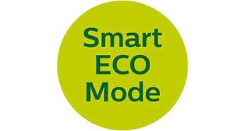 Energiebesparende, slimme ECO-modus voor zo min mogelijk transmissie
