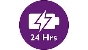Mais flexibilidade com até 24 horas de monitorização