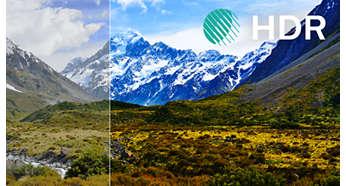 HDR Premium. Betere kleuren, diepte en dimensie