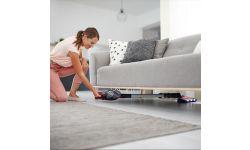 Быстрая очистка даже под низкой мебелью