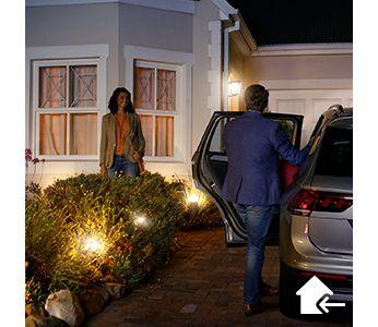 Ustaw oświetlenie tak, aby witało Cię w Twoim domu