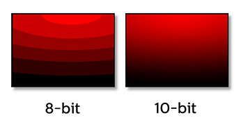 10-bit IPS technology for full colors and wide viewing angle