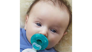 Plush toy is compatible with all Philips Avent pacifiers