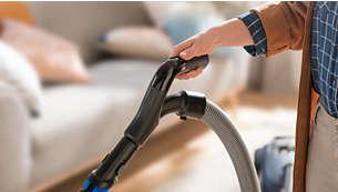 Ergonomisk håndtag med fjernbetjening