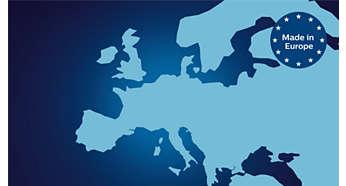 Güven sunan kalite için Avrupada üretilmiştir