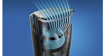 Оптимизиран въздушен поток за оформяне без бъркотия