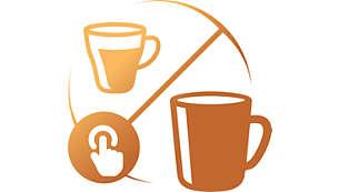 En kop eller et krus på under et minut