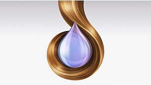 智能水润技术,保持秀发的天然水分