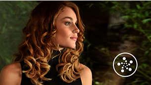 Jonizacja dla gładkich, niepuszących się, błyszczących włosów