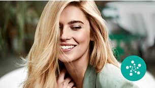Cuidado iónico para un cabello suave, brillante y sin encrespado