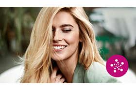 Starostlivosť pomocou iónov pre nádherne hladké, rovné a lesklé vlasy