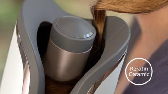 Кератинова керамика за гладка и защитена коса