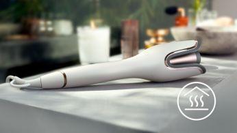 Устойчив на топлина дизайн за безопасно къдрене