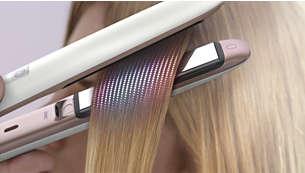 Snímač MoistureProtect pro inteligentní úpravu vlasů