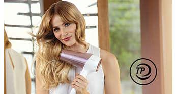 ThermoProtect предотвратява прегряване на косата ви