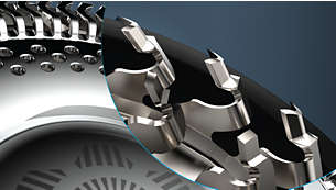 Maximale Präzision dank NanoTech-Präzisionsklingen