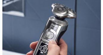 Персонализируйте свое бритье, выбрав между тремя настройками