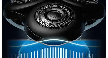 BeardAdapt Sensor anpassar rakningen efter skäggstrånas tjocklek