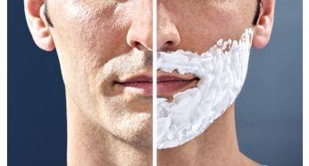 Комфортне вологе або сухе гоління