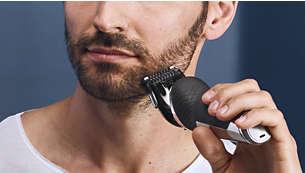 Tondeuse barbe clipsable avec 5hauteurs de coupe