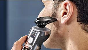 Accessoire tondeuse clipsable pour une moustache et des pattes impeccables