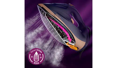 SteamGlide Elite: talpa noastră cu cea mai bună alunecare şi rezistenţă la zgârieturi